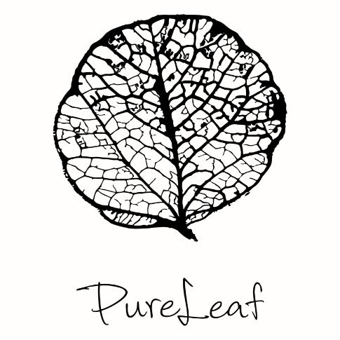 pureleaf.dk logo