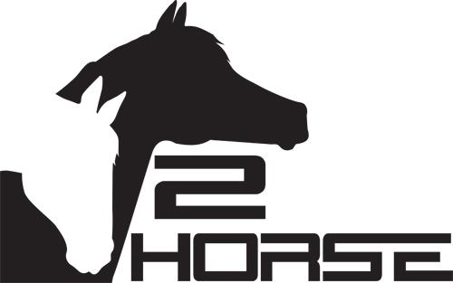 2horse.dk logo