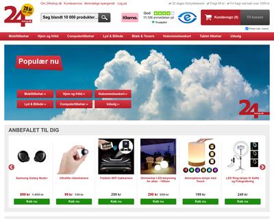 24hshop.dk website