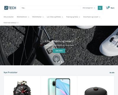2tech.dk website