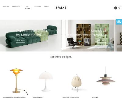 3falke.dk website