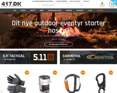 417.dk website