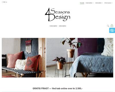 4seasonsdesign.dk website