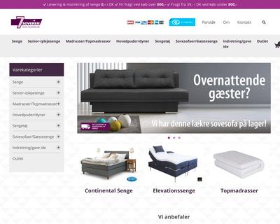 7soveren.dk website