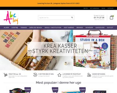 abcleg.dk website