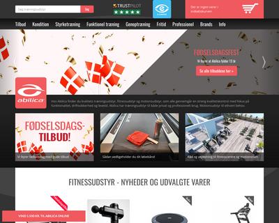 abilicaonline.dk website