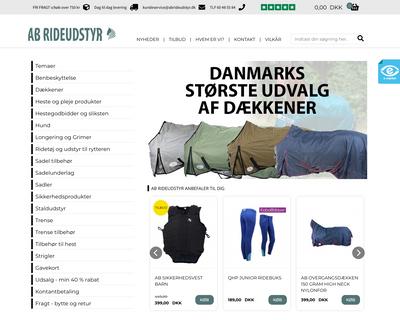 abrideudstyr.dk website
