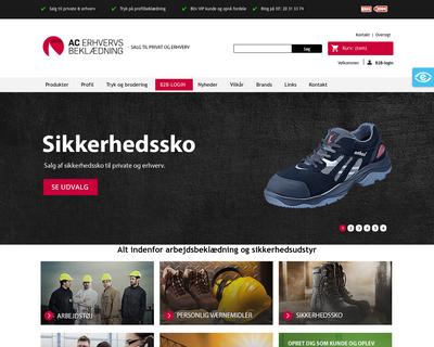ac-erhverv.dk website