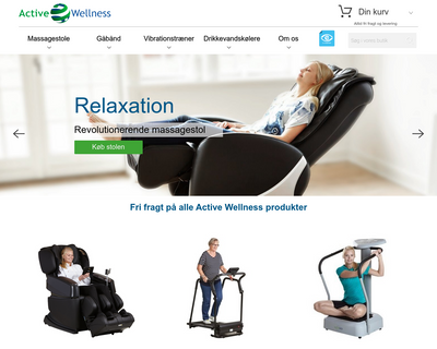 activewellness.dk website