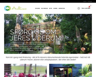 adiso.dk website