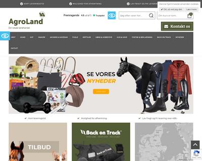 agroland.dk website