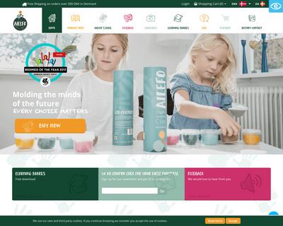 ailefo.dk website