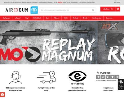 airgun.dk website