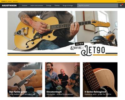 akustikken.dk website