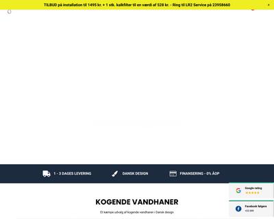 akvatur.dk website