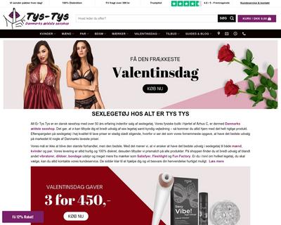 altertystys.dk website