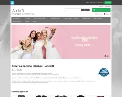 annied.dk website