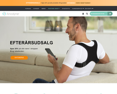 anodyne.dk website