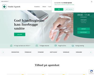 apoteket-online.dk website