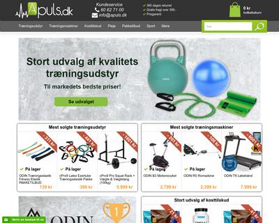 apuls.dk website