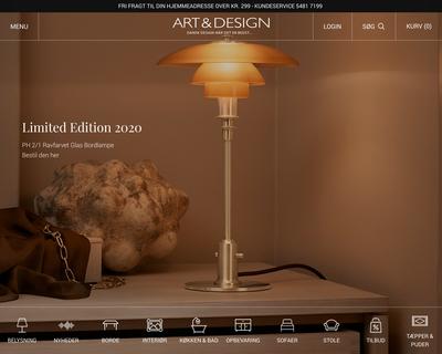 artogdesign.dk website