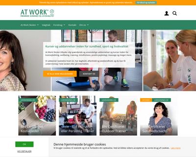 atwork.dk website