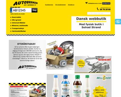 autobremsen.dk website