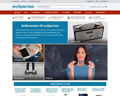 avxperten.dk website