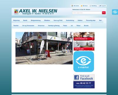 axelw.dk website