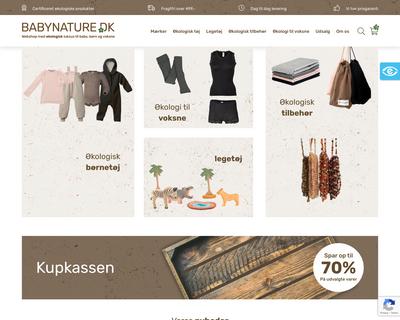 organicminds.dk website