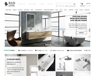 badstil.dk website