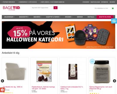 bagetid.dk website