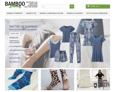 bamboorambo.dk website