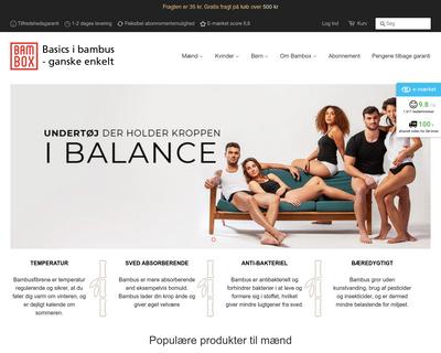 bambox.dk website