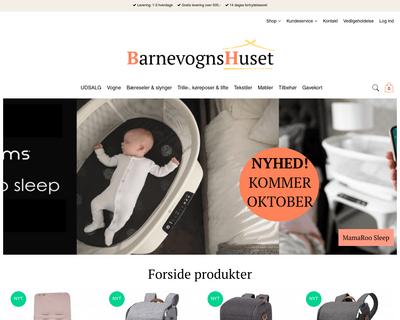 barnevognshuset.dk website