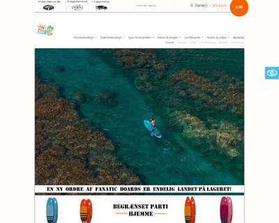 beachfun.dk website