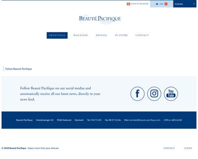 beaute-pacifique.com website