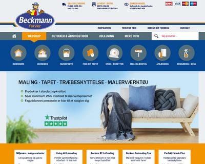 beckmann.dk website