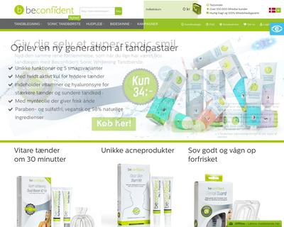 beconfident.dk website