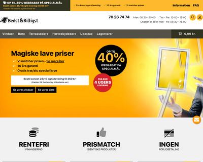 bedst-billigst.dk website