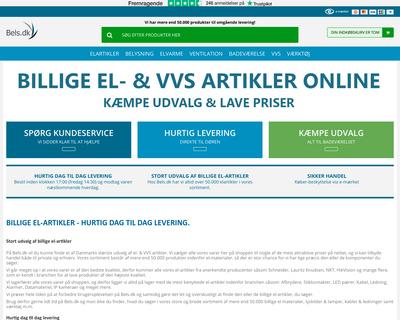 bels.dk website