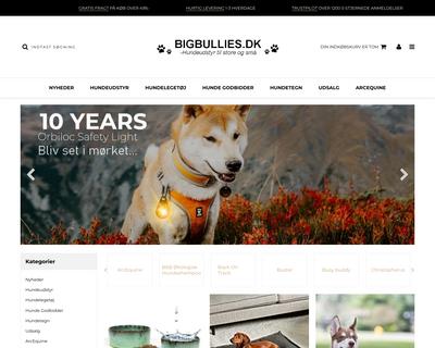 bigbullies.dk website