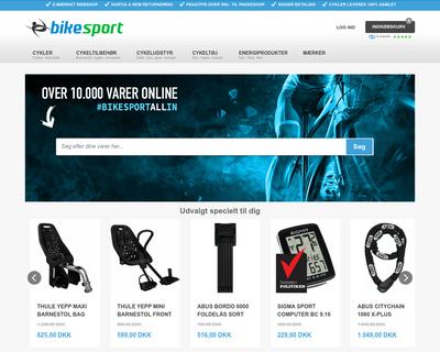 bikesport.dk website