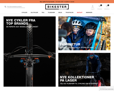 bikester.dk website