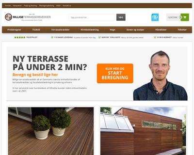 billige-terrassebraedder.dk website