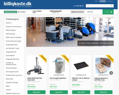 billigkoste.dk website