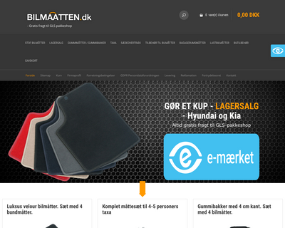 bilmaatten.dk website