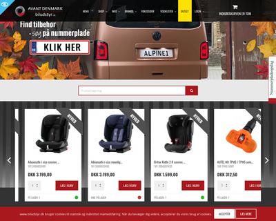 www.biludstyr.dk website