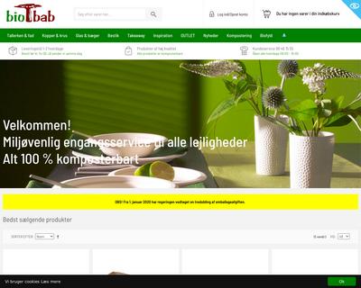 biobab.dk website