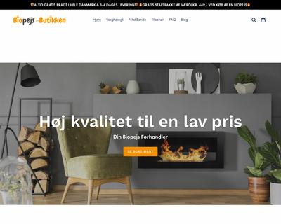 biopejs-butikken.dk website